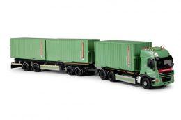 container vrachtwagen